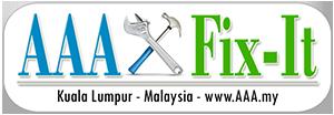 AAA Fix-It Handyman Services Malaysia Logo