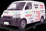 AAA Fix It Van's cover Kuala Lumpur